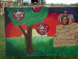 Lots of fun for kids at Glenwood Orchard!